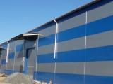 Завершение строительства здания из металлоконструкций