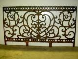 Забор сделанный с помощью плазменной резки