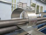 Процесс вальцовки металла