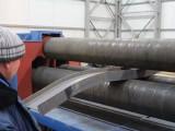 Вальцовка металла на станке