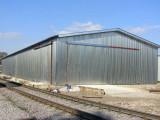 Конструкция быстро возводимого склада
