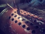 Фото процесса сверления по металлу