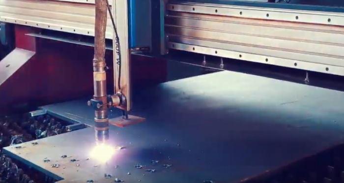 Производство металлоконструкций на заводе